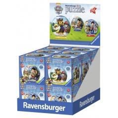 Ravensburger puzzle Tlapková Patrol - 3D, 54 dílků
