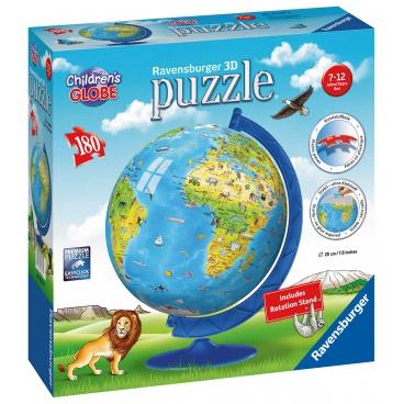 Ravensburger dětské puzzle Dětský Globus (anglický) 180 dílků