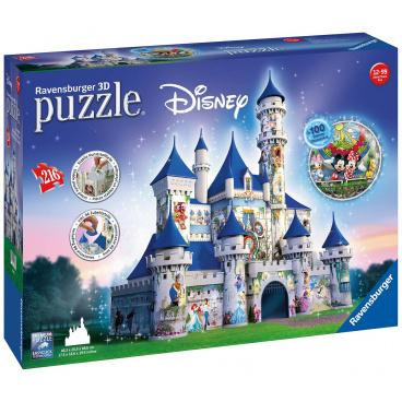 Ravensburger 3D puzzle Disney zámek 216 dílků