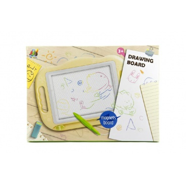 Teddies Magnetická tabulka kreslící plast v krabici 47x34x3cm