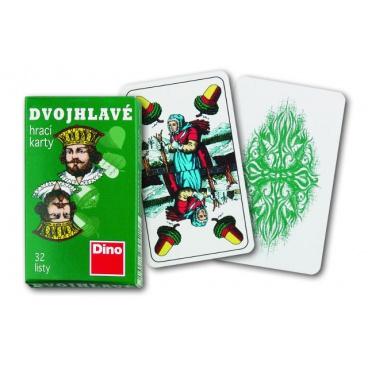 Dino Hrací karty dvouhlavé
