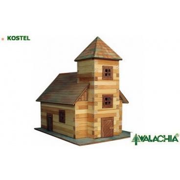 Walachia dřevěná stavebnice - Kostel