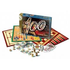 Bonaparte Soubor her 100-společenská hra v krabici 35x23cm