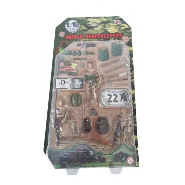 Mac Toys Figurka vojáka s doplňky