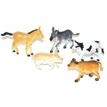 Rappa Zvířata domácí I. 5 ks v sáčku