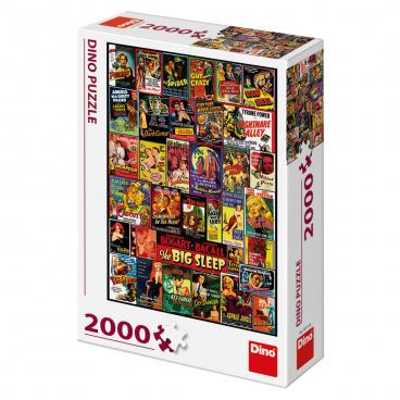 Dino puzle Filmové plakáty 2000D