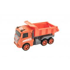 Teddies Auto stavební kov/plast na setrvačník 12cm 4 druhy