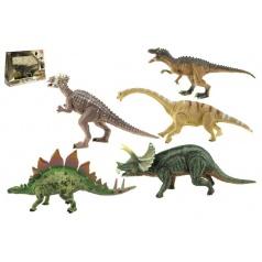 Teddies Dinosaurus hýbající se plast 16cm asst 6 druhů