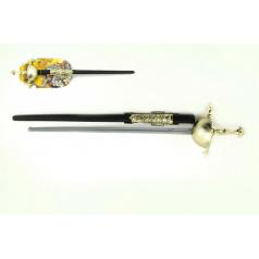 Kord meč rytířský plast 63cm na kartě
