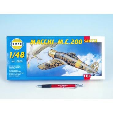 Směr Model Macchi m.č. 200 Saetti 16,1 x 21,2cm v krabici 31x13,5x3,5cm