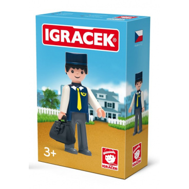 IGRÁČEK - Pošťák s doplňky