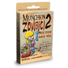 ADC Blackfire Entertainment ADC BlackFire hra Munchkin - Zombíci 2