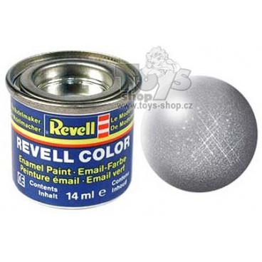 Revell emailová barva 32191 metalická ocelová