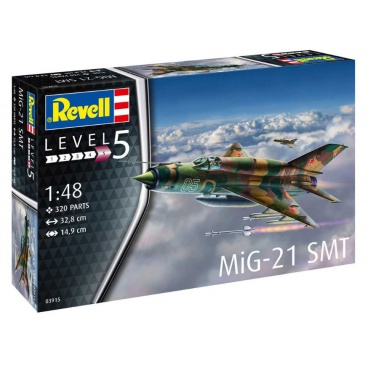 Revell  Plastic ModelKit letadlo 03915 - MiG-21 SMT (1:48)