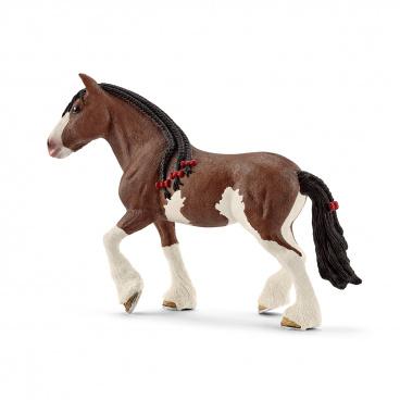 Schleich 13809 figurka kůň - kobyla Clydesdaleská