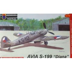 Kovozávody Prostějov Avia S-199 Early 1:72