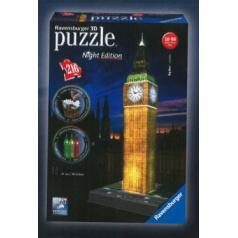 Ravensburger  Big Ben Noční edice 3D puzzle svítící 216 dílků