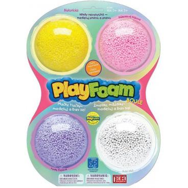 PEXI Dětská pěnová modelína PlayFoam Boule 4pack - G