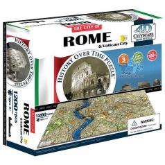 4D Cityscape Puzzle - Řím Vatikán