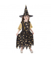 Rappa Dětský kostým čarodějnice/Halloween (M)