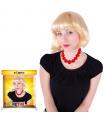Karnevalová paruka dlouhé vlasy blond pro dospělé