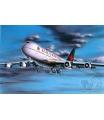 Revell Plastic ModelKit letadlo 04210 - Boeing 747-200 Air Canada (1:390)