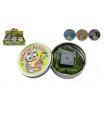 Teddies Hmota/modelína 50g inteligentní megnetická 8cm asst mix barev v plechové krabičce