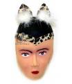 klobouk kočka s peřím