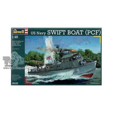 model 05122 Revell loď US Navy Swift Boat (PCF) 1:48