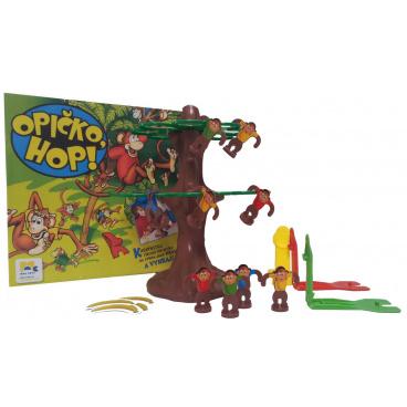 Dětská společenská hra Opičko, HOP