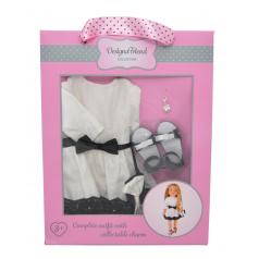 mac toys Společenské šaty pro panenky Designa