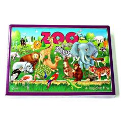 Hydrodata RAPPA hračky Zoo 4 logické hry spoločenská hra v krabici 29x20x4cm
