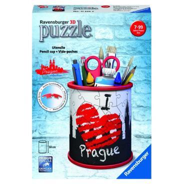 Ravensburger Stojan na tužky I love Prague 54 dílků 3D puzzle