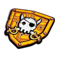 Mac Toys Blue Rocket Pirátský štít
