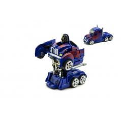 Auto robot/truck plast 13cm