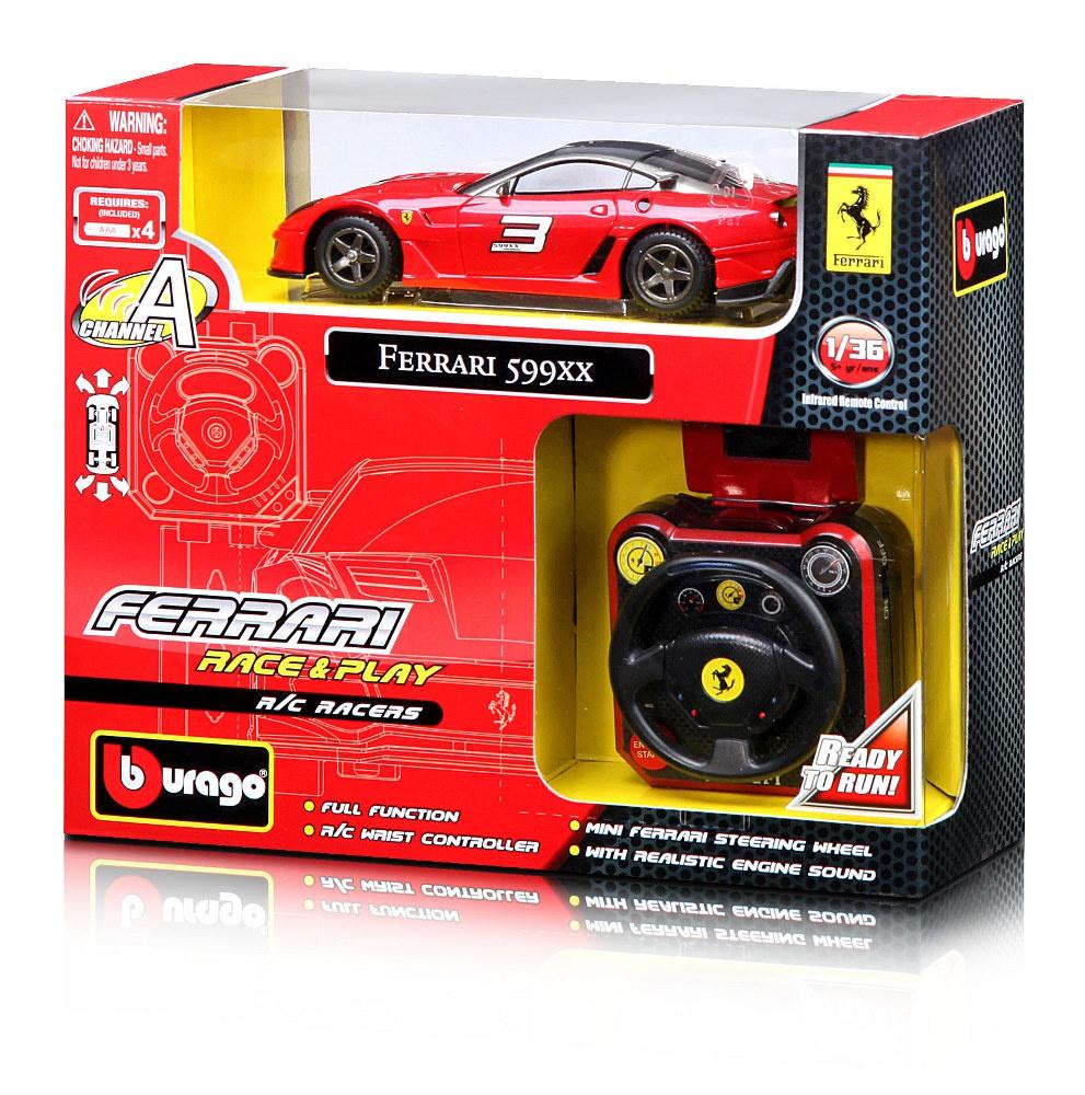 Bburago  RACE&PLAY R/C RACERS autíčko na dálkové ovládání