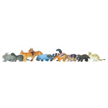 Rappa Zvířata lesní 10 ks v sáčku