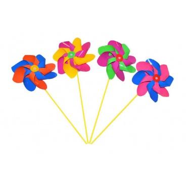 Wiky Větrník 52 cm průměr 20cm asst 3 barvy
