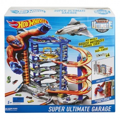 Hot Wheels CITY SUPERGARÁŽ