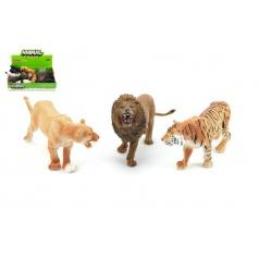 Teddies Zvířátka plast 10cm, výběr ze 6 druhů