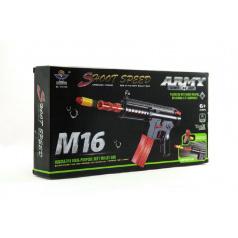 Samopal na pěnové náboje plast 40cm M16 v krabici