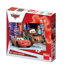 Cars 24d flor puzzle