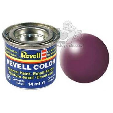 Revell emailová barva 32331 hedvábná purpurově červená