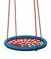 Woody 91409 Houpací kruh (průměr 100cm) - červeno-modrý