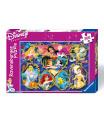 Ravensburger dětské puzzle  Disney Galerie Princezen 300d