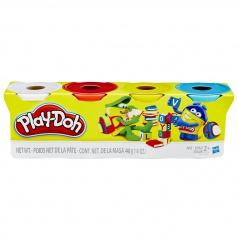 Play-Doh Hasbro Play Doh modelína BALENÍ 4 TUB ASST B5517