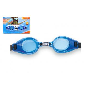Teddies Plavecké brýle dětské 3-8 let na kartě 20x12cm