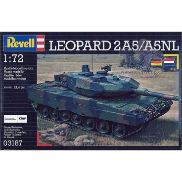 Revell Plastic ModelKit tank 03187 - LEOPARD 2 A5 / A5 NL (1:72)
