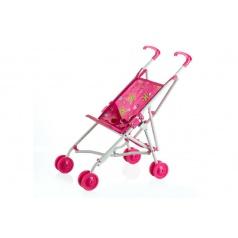 Teddies Kočík pre bábiky golfky kov/plast 27x55x52cm v sáčku
