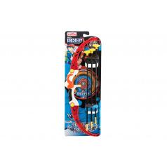 Teddies Luk 57cm + šípy s přísavkami 3ks plast na kartě